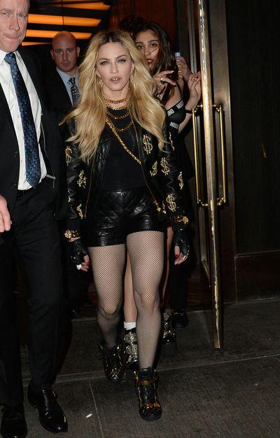 <p>Madonna</p>