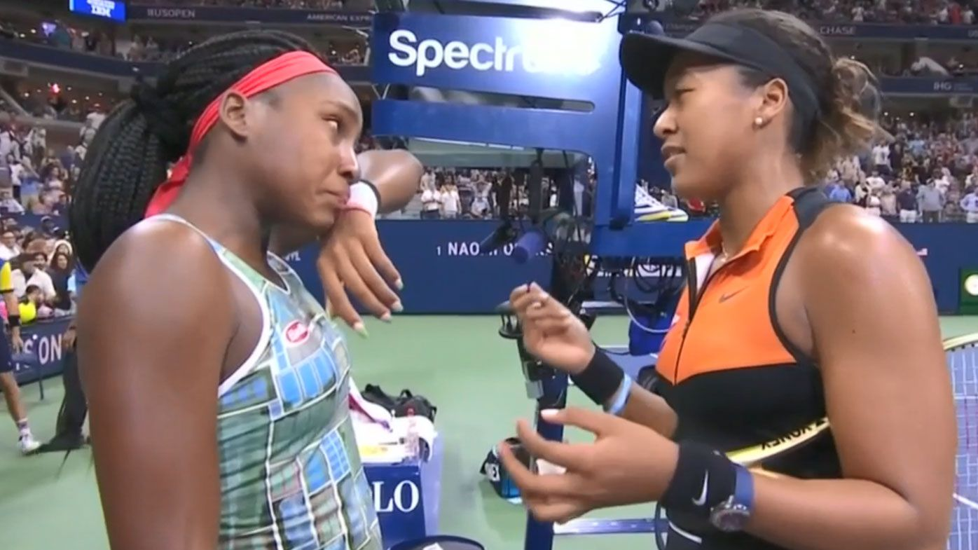 Naomi Osaka's class US Open act for teen debutant Coco Gauff