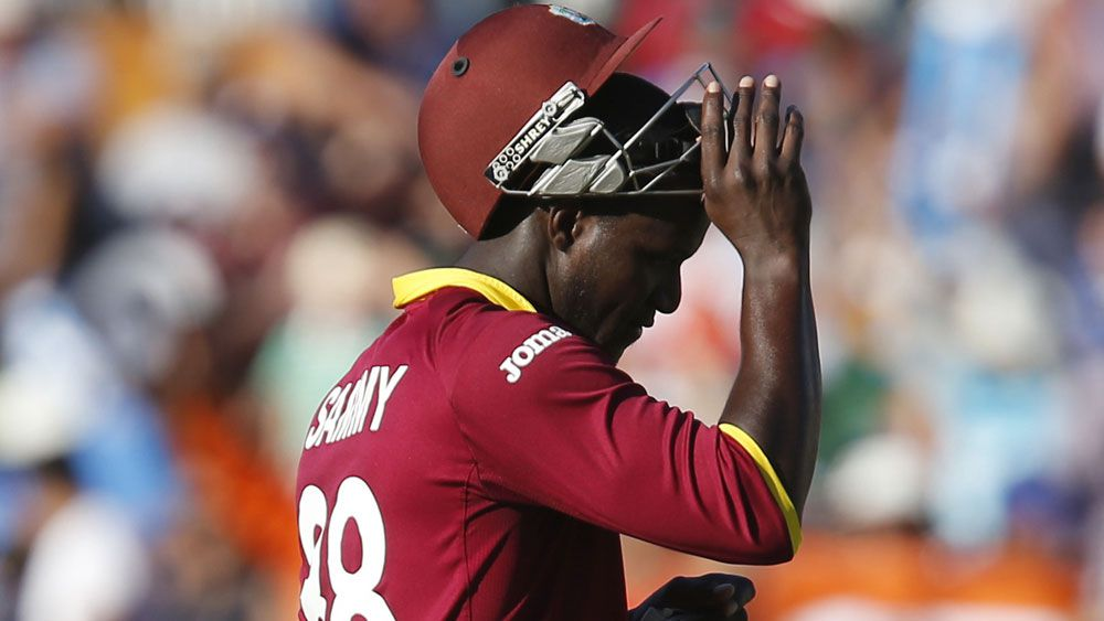 West Indies captain Darren Sammy. (AAP)