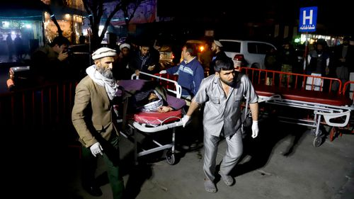 At least 40 killed in Kabul as suicide bomber targets religious gathering