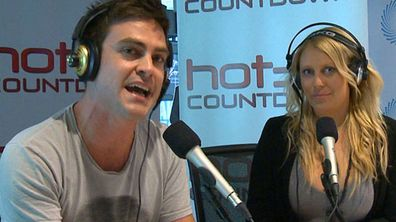2Day FM hosts Michael Christian and Mel Greig. (AAP)