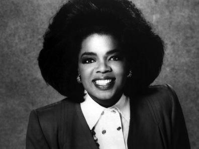 Oprah Winfrey in 1975.