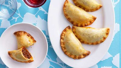 """Bolognese turnovers - <a href=""""http://kitchen.nine.com.au/2016/05/17/10/43/bolognese-turnovers"""" target=""""_top"""">view recipe</a>"""