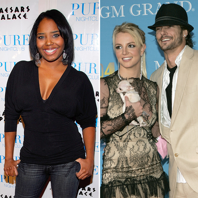 Shar Jackson, Britney Spears and Kevin Federline