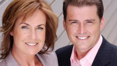 Tracy and Karl Stefanovic during their Today show days.