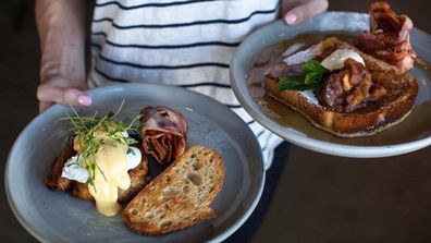Breakfast at Griffith Street Larder