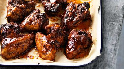 "<a href=""http://kitchen.nine.com.au/2017/04/07/14/02/hayden-quinns-rum-and-coke-wings"" target=""_top"">Hayden Quinn's rum and coke wings</a><br /> <br /> <a href=""http://kitchen.nine.com.au/content/2016/06/06/21/18/easy-gourmet-finger-food"" target=""_top"">More finger food</a>"