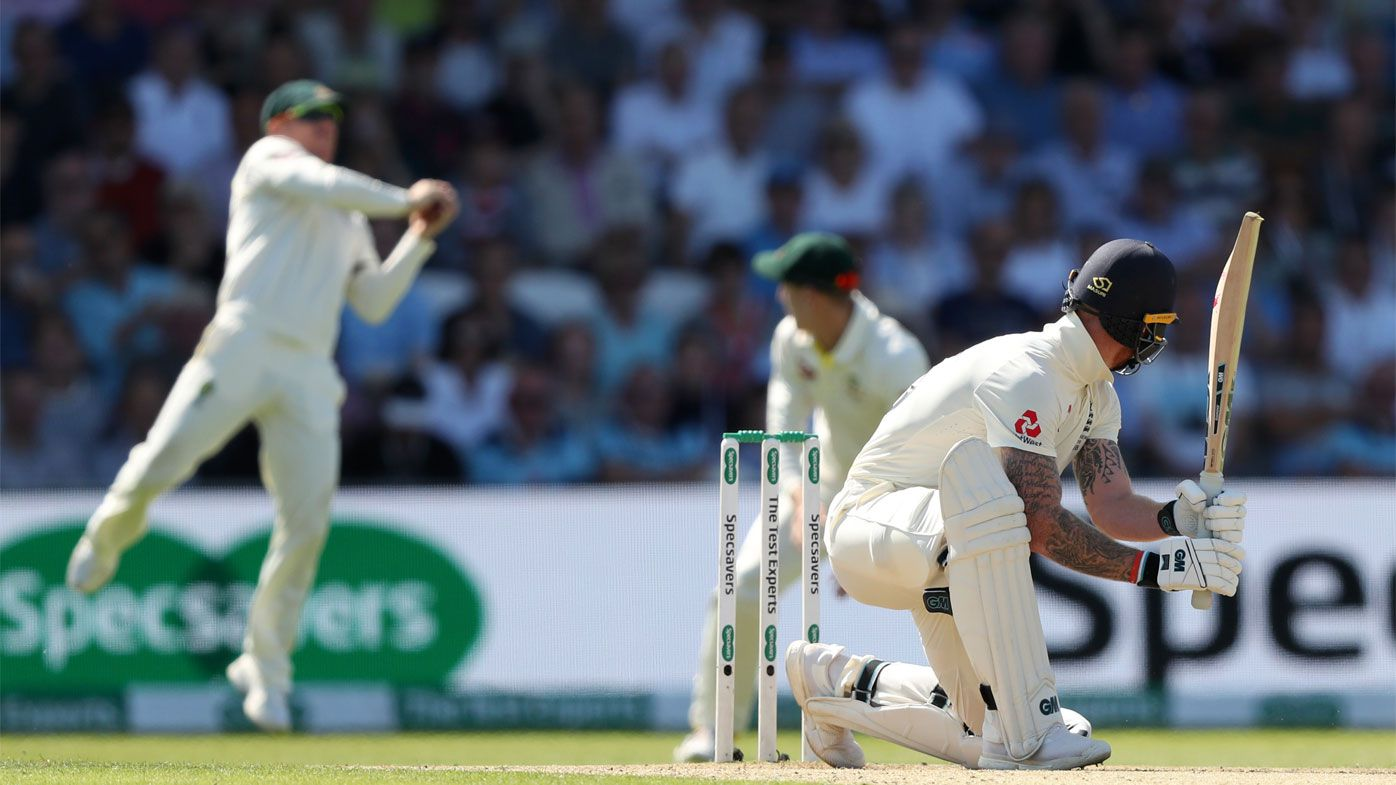 Warner shone in the slips on day two
