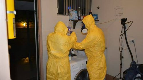 Police uncover the Northern Territory's largest ever drug lab