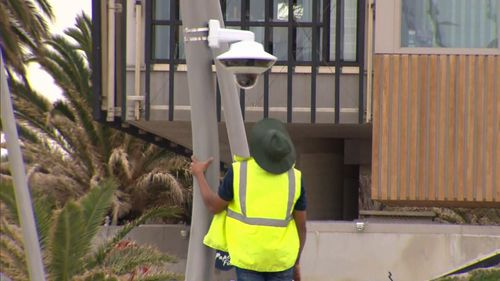 CCTV is currently being installed by the state government.