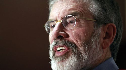 Gerry Adams released from custody