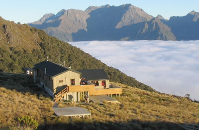 <strong>Luxmore Hut, Fiordland</strong>