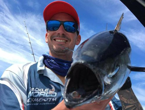 Brock Hewitt, 29, went fishing on Monday afternoon and hasn't been heard from since.