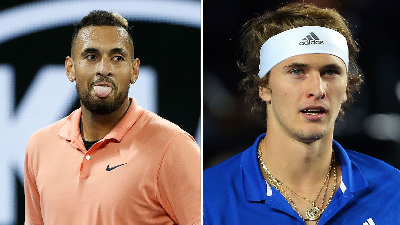 'Please shush': Nick Kyrgios torches Zverev fail