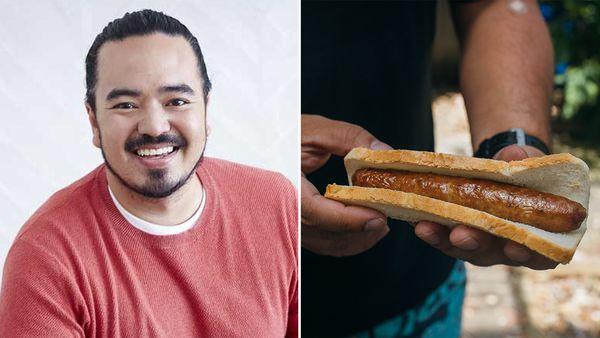 Adam Liaw sausage sizzle hack