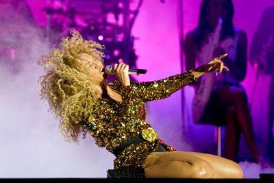 She was the talk of UK festival Glastonbury in 2011. <br/><br/>Unbeknownst to the crowd, she was pregnant at the time.