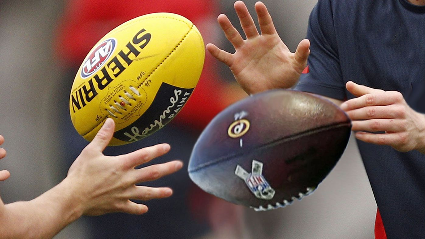 Opportunity knocks in American football for delisted AFL players