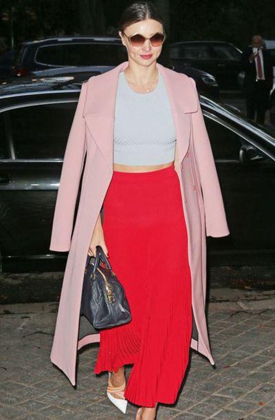 Model Miranda Kerr in Los Angeles in December, 2017.