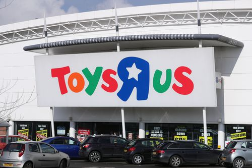The embattled toy chain has gone into voluntary administration in Australia. Picture: AAP