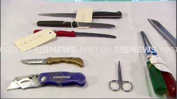 The shocking weapons MCG patrons have tried to sneak in