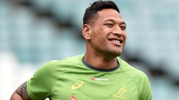 Israel Folau was sacked by Rugby Australia following a homophobic social media post.