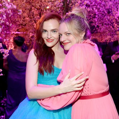 Madeline Brewer and Elisabeth Moss