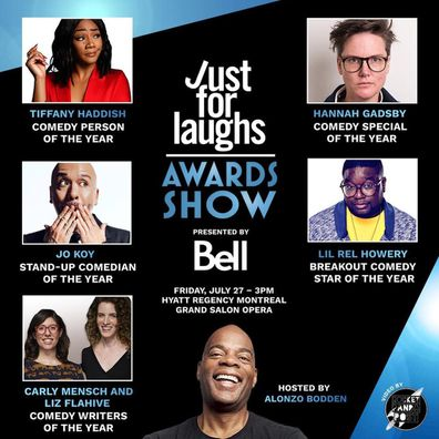 Netflix, Jo Koy, comedian, Hannah Gadsby, Just For Laughs Comedy Festival, winners
