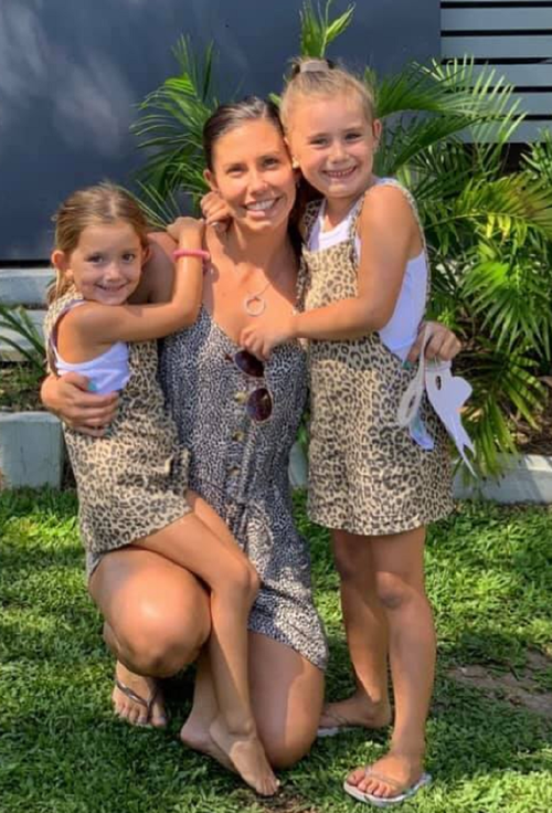 Hannah Clarke pictured with her daughters ahead of their tragic deaths on 19 February, 2020.