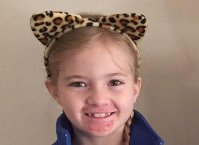 Zoe smiling