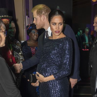 Meghan Markle and Prince Harry, Royal Albert Hall 2019