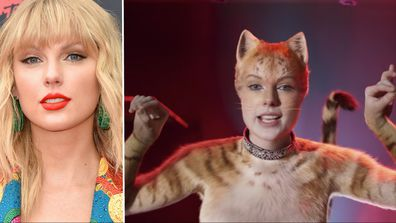 Taylor Swift as Bombalurina in 'Cats.'
