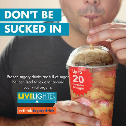 The advertising campaign will be shown on bus and tram stops around Victoria. (LiveLighter)