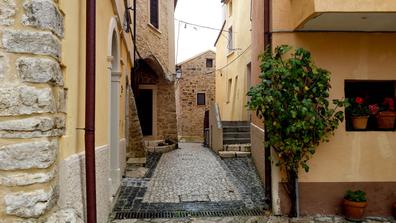 Campodimele's streets