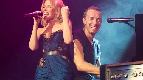 Chris Martin Kylie Minogue