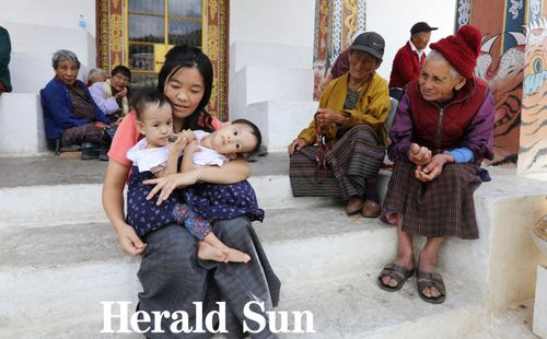 Nima and Dawa Pelden are flying from Bhutan to Melbourne for life-saving surgery.