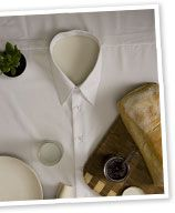"Make a ""dressy"" shirt tablecloth"