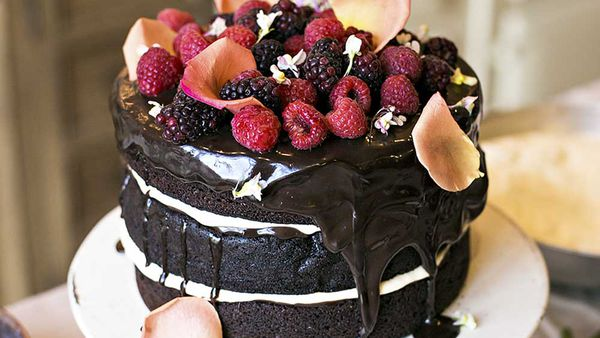 The Grounds chocolate layer cake