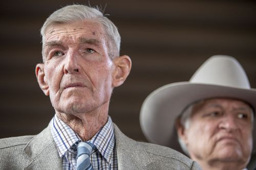 87-year-old Charlie Phillott was forced off his Queensland property by ANZ, despite never missing a mortgage payment. (AAP)