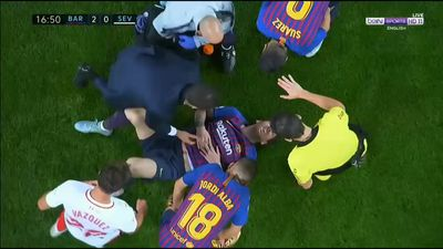 Barcelona star Lionel Messi could miss six games with broken arm