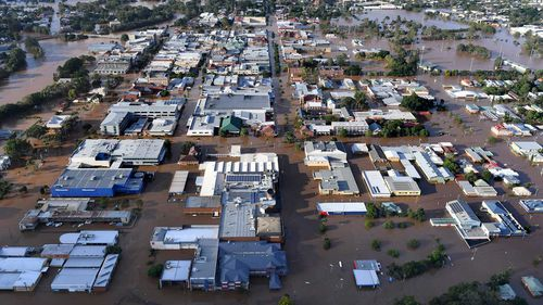 Lismore experienced its worst flood in 43 years. (9NEWS)