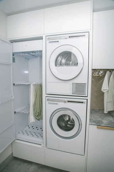 El'ise and Matt's renovation: A functional and stylish laundry