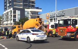 NSW woman run over by cement truck in Wollongong