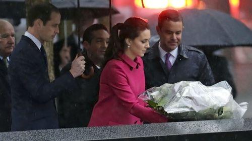 British royals visit 9/11 memorial in NY