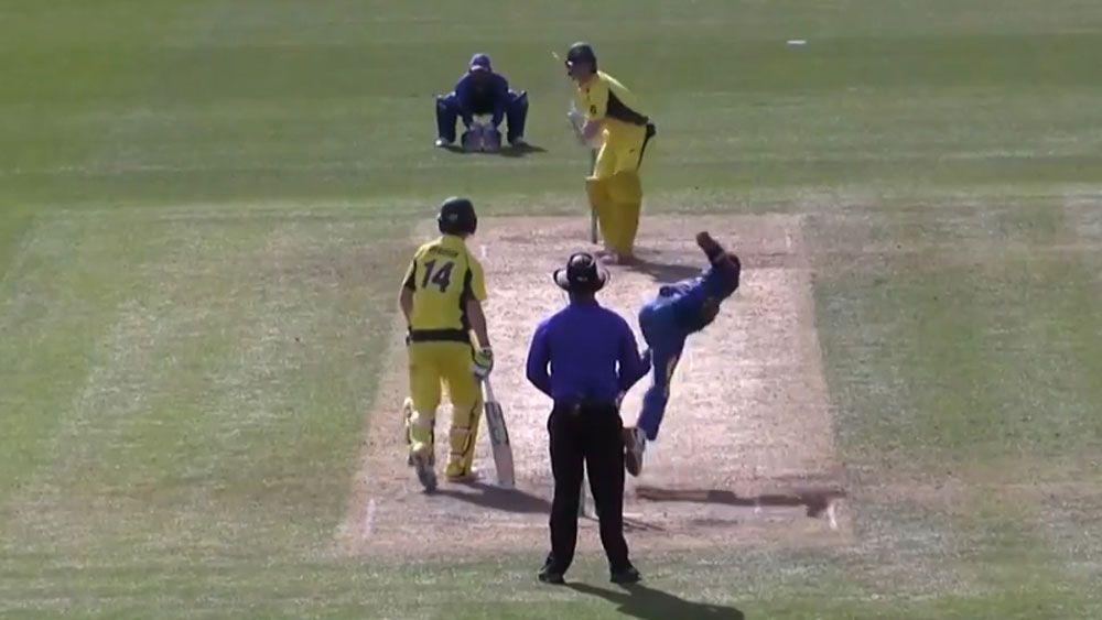 Austin Waugh, son of Steve Waugh, shines in Australia's under-19s ODI win over Sri Lanka