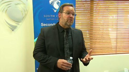 South Coast Baptist College principal Des Mitchell. (9NEWS)