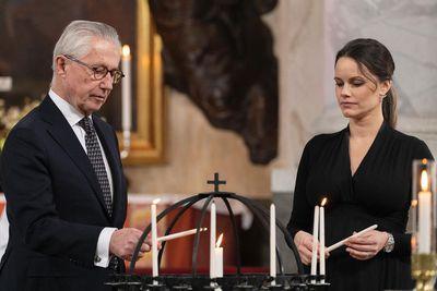 Princess Sofia attends memorial for COVID-19 victims, March 2021