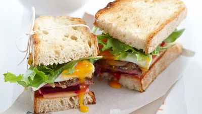 "Recipe: <a href=""http://kitchen.nine.com.au/2016/05/05/16/13/steak-sandwich"" target=""_top"">Steak sandwich with a fried egg</a>"