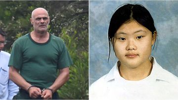 Vinzent Tarantino's ex-girlfriend has given evidence in the trial over the alleged murder of school girl Quanne Diec.