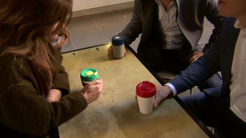 Coffee drinkers are slowly coming around to the idea of bringing their own keep-cup for their caffeine hit. Picture: 9NEWS
