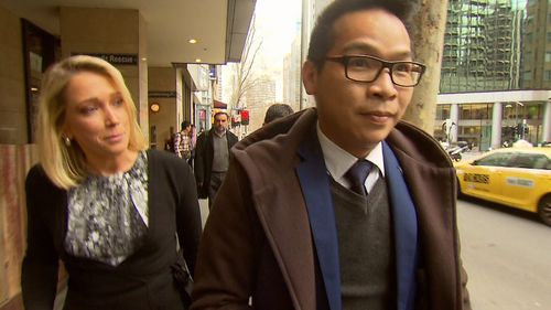 Property developer Jason Dinh has refused to explain where $3 million in housing deposits have allegedly vanished to.